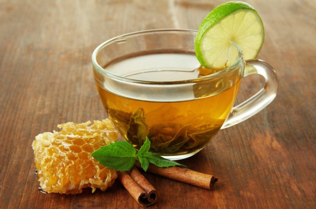 Чай с медом и лаймом