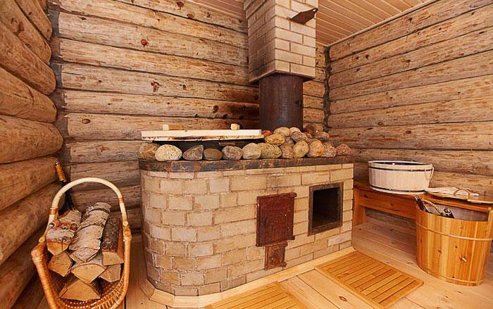 Печь с дровами