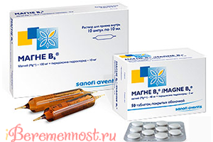 Магне В6 в таблетках и ампулах