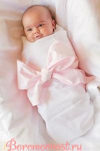 Ребенок в пеленках