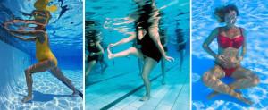 Беременные девушки в бассейне