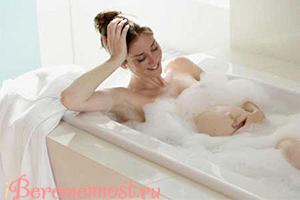 как принимать ванну при беременности