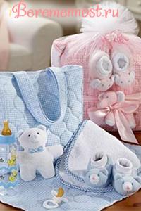 Вещи для малыша в роддом