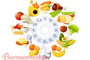 необходимые витамины во время беременности
